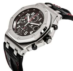Audemars Piguet Royal Oak Black Dial Watch 26470ST.OO.A101CR.01 copy - http://richvibe.com/fashion/audemars-piguet-royal-oak-offshore-black-dial-watch/