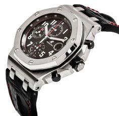 Audemars Piguet Royal Oak Black Dial Watch 26470ST.OO.A101CR.01 copy - http://richvibe.com/fashion/audemars-piguet-royal-oak-offshore-black-dial-watch/
