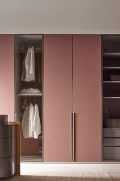 Ethan wardrobe designed by Ligne Roset for Ligne R Wardrobe Door Designs, Wardrobe Design Bedroom, Modern Wardrobe, Wardrobe Doors, Wardrobe Closet, Closet Bedroom, Ligne Roset, Wardrobe Furniture, Cupboard Design