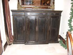 Barrymore Cottage Console Buffet Cabinet  by ArcadianCottage, $1800.00