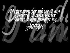 celine dion - im your lady [lyrics] - YouTube