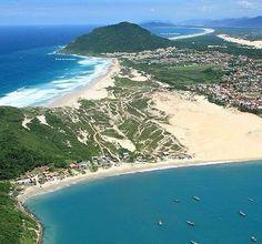 Praia e Dunas dos Ingleses. Floripa. Brasil