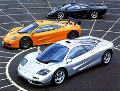 McLaren F1 trio