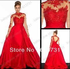 Bildresultat för red prom dress