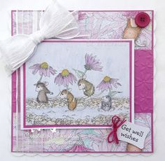 "House-Mouse & Friends Monday Challenge: MID WAY Reminder HMFMC #213 ""Rain or Shine"""