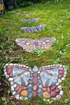 Mariposa jardin