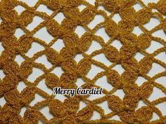como tejer red de pétalos a crochet - YouTube