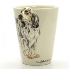 English Setter Mug 00005 Ceramic Handmade Gift Pet Lover Collectibles