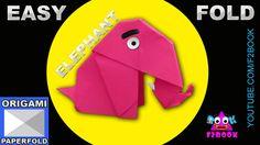 Easy Origami Elephant Folding Instructions Video 55 f2book