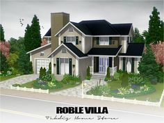 Roble Villa by Takdis  http://www.thesimsresource.com/downloads/1178818