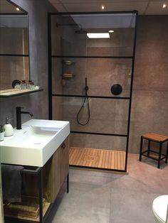 Bathroom Layout, Modern Bathroom Design, Bathroom Interior Design, Bathroom Ideas, Wc Bathroom, Modern Design, Bathroom Black, Minimalist Design, Small Bathroom Furniture
