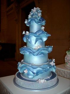 Provides information and picture of best wedding cakes, wedding cake designs, wedding cake ideas, wedding cake toppers, wedding cupcakes and anniversary cakes. Cake Boss Wedding, Amazing Wedding Cakes, Wedding Cake Designs, Amazing Cakes, Cake Wrecks, Gorgeous Cakes, Pretty Cakes, Dolphin Cakes, Boat Cake