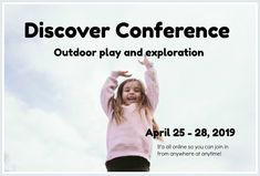 Join me online for this amazing conference! These four fabulous days will transform your outdoor play experiences! Preschool Classroom, Teach Preschool, Art Area, Certificate Of Completion, Outdoor Classroom, Circle Time, Back To Work, Continuing Education, Live Events