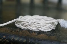 You don't have to sail the seven seas to add a little nautical style to your fall wardrobe. With this tutorial and a little twine, you're good to go!