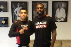 """ Last training session with Jon Jones. He's ready to win GB team is with you.""  - Roberto Tussa."
