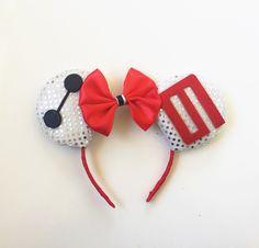 Baymax Ears, Baymax Disney Ears, Baymax Mickey Ears, Big Hero 6 Ears, Disney…