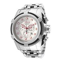 Invicta Men's Bolt Reserve 14064 Watch http://www.thesterlingsilver.com/product/bering-time-mens-chronograph-watch/