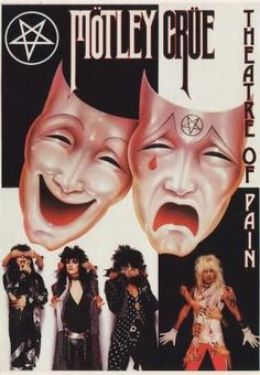 Motley Crue ~ Theatre of Pain, my rock album! Nikki Sixx, Rock Posters, Band Posters, Concert Posters, Music Posters, Guitar Posters, Festival Posters, Glam Metal, Girls Girls Girls