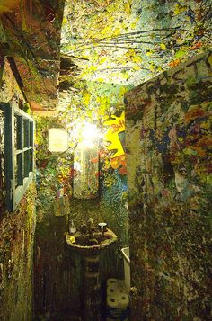 bathroom by justin gaffrey. been here, very very cool
