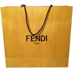 Fendi Large Shopping Yellow Tote Bag ($5) ❤ liked on Polyvore featuring bags, handbags, tote bags, fendi tote, tote purses, fendi, handbags tote bags and yellow handbag