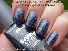 p2 Sand Style Polish 050 Confidential mit essence gel nails at home
