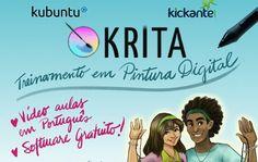 Você não precisa ser artista para apoiar meu projeto de um Treinamento de Pintura Digital em Krita software gratuito e poderoso que tem sido elogiado e indicado para pintura digital no lugar do Photoshop (pasme!)! Este treinamento em Português também incentivará o fim da pirataria já que usarei sistema operacional Linux (gratis e opensource) e todos os softwares gratuitos que vêm com ele incluindo o Krita. Link para o crowdfunding na bio!!!! #krita #linux #pinturadigital #fimdapirataria…