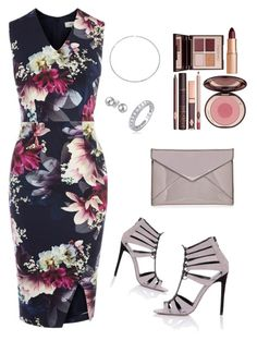"""Floral Pastels"" by anjigayle ❤ liked on Polyvore featuring Coast, Little Mistress, Rebecca Minkoff, Charlotte Tilbury and Bling Jewelry"