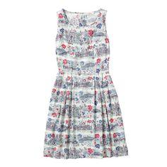 Brighten Up Stripe Sleeveless Dress
