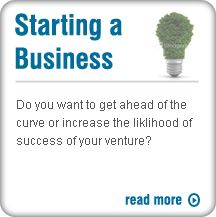 We can help you start your business