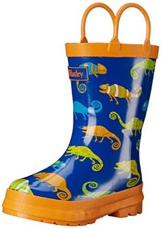 Hatley Boys' Crazy Chameleons Rain Boots -- You can get additional details at