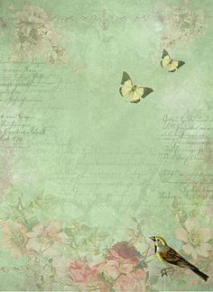 Vintage Background Paper ~ Astrid's Artistic Efforts: Beautiful free vintage printables - LOTS OF THEM!!