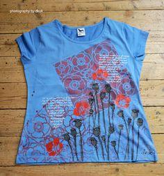 Ručně malované tričko od paní Dagmar Kukučkové. Tie Dye, Mens Tops, T Shirt, Women, Fashion, Supreme T Shirt, Moda, Tee Shirt, Fashion Styles