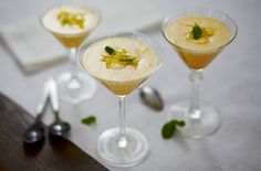 Lemon sabayon recipe