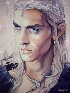 Oropher -  a Sindarin Elf of Doriath; King of the Silvan Elves; a father of the Elvenking Thranduil and the grandfather of  Legolas
