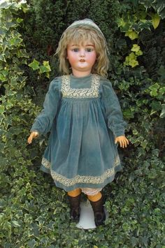 "Magnificent 32"" Simon & Halbig 1079 DEP Bisque Head Child Doll Germany c1892"