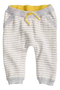 Pantalón en punto fino | H&M