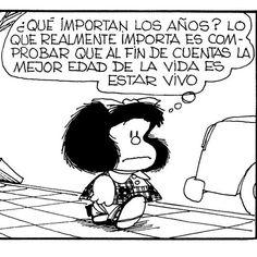 Mafalda y la vida