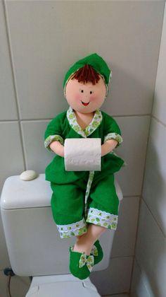 Bonecas para banheiro