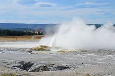 Гейзер Клепсидра. Єллоустонський національний парк. Вайомінг. США (Clepsydra Geyser. Yellowstone National Park, Wyoming)