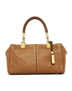 Skorpios Zip-Top Satchel Bag, Desert by Michael Kors at Neiman Marcus.