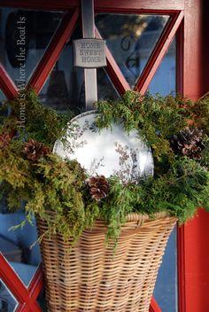 basket full of cedar tips