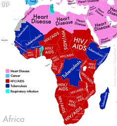 Because of the prevalence of aids in Africa, false statements get bandied around. Here are 10 factual statements about HIV/AIDS in Africa and other diseases Aids In Africa, Africa Map, South Africa, Ap Human Geography, World Geography, Geography Map, African Countries, Historical Maps, Astronomy