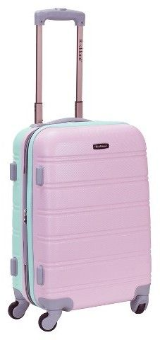"Rockland Melbourne Expandable Carry On - Mint (20"")"
