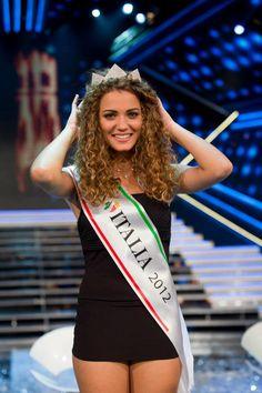 Miss Italia 2012 con la corona #giusybuscemi
