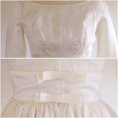 Ivory wedding dress-Formal wedding dress-50s by TheIvyRetreat