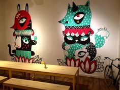 Art Expositions, Creative atmosphere, Delicious drinks and food: CosmoBar.