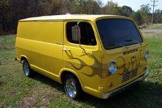 Vintage Chevy Van