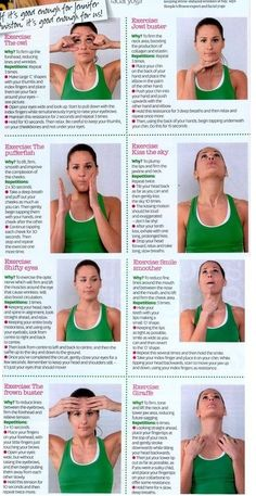 Facial Yoga... start now so in ten years there are no worries by amberjane123