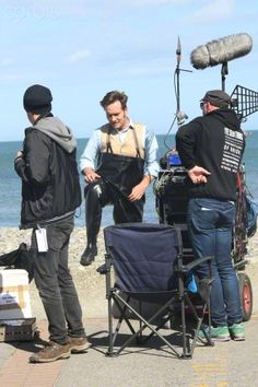 Matthew McFadden pictured filming Ripper Street in Co. Wicklow, ireland.