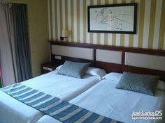 Habitación Hotel Holiday Palace de Benalmádena.